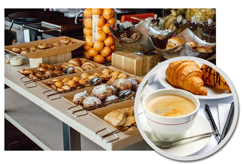 Desayunos de empresas, coffee breaks, menús de trabajo en Talavera en Hotel Ebora
