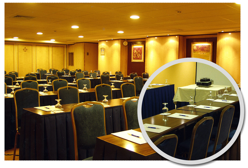 Salones para reuniones de empresas, actos y eventos empresariales en Hotel Ebora Talavera de la Reina