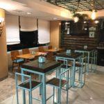 Cafetería y bar en Talavera cafetería Green´s back en Hotel Ebora